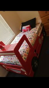 Fire truck bed with trundle. Angle Park Port Adelaide Area Preview