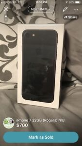 iPhone 7 32GB NIB (Unlocked)