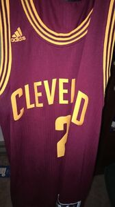 NEVER WORN KYRIE IRVING JERSEY