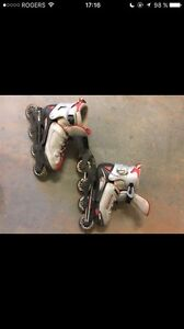 Patins à roulettes pointure 2-3-4-5 (rollerblade)