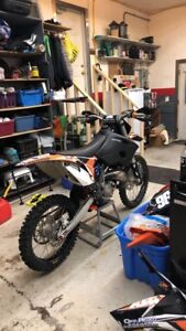 Woods or track ktm sx125!