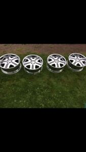 Chrome rims