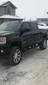 """22"""" kmc rims and tires"""