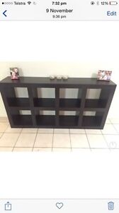 REDUCED TOMORROW ONLY! Cube bookcase bookshelf Upper Coomera Gold Coast North Preview