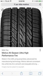 Nitto tires 225/45ZR18