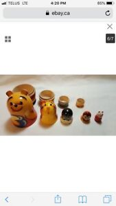 Winnie the Pooh and friends vintage