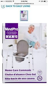MedPro Home Care Commode Chair