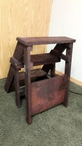 Chair and Step Stool