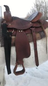 Roping Saddle for Sale Full QH Bar Saddle/ Great Condition