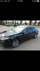 2012 Acura TL Tech pkg winter tires