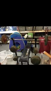 Weight bench 200 lbs