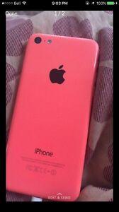 Cracked iPhone 5c