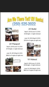 RV Rentals (Merritt) Book early to secure your dates!