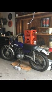 Yamaha AT1 125 (2 stroke)