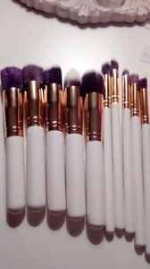 Brand New Professional Makeup Brushes. Set of 10.