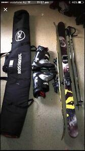 2016 armada skis, boots, poles, and ski bag Erskine Park Penrith Area Preview