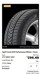 Landrover winter tires