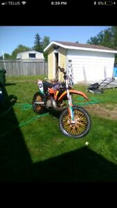 2010 Ktm 250sx sell or trade