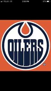 OILERS Tickets - Every Home Game - Lower Bowl - Sec. 113, Row 14