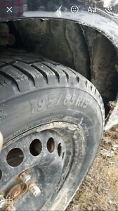 195/65 r 15 winter studded tires for sale