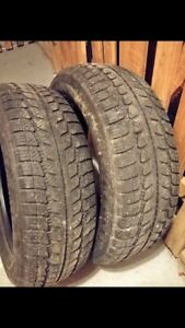 205/60R16 winter tires Hercules two tires