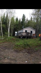 Hunting and fishing camp