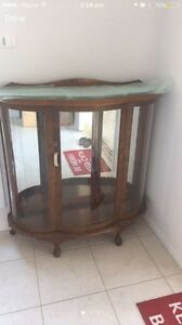 Vintage display / china cabinet Jerrabomberra Queanbeyan Area Preview