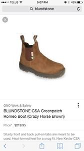 Brand new blundstone boots