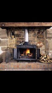 FIREWOOD!! XXL bags of birch firewood split and ready to burn