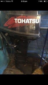 Tohatsu 30hp outboard motor not Yamaha Lemon Tree Passage Port Stephens Area Preview
