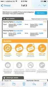 Tigerair flight Adelaide to Sydney 2-4 September Adelaide CBD Adelaide City Preview