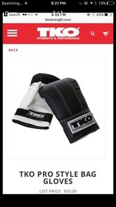 Punching bag gloves-workout equiptment- workout machine