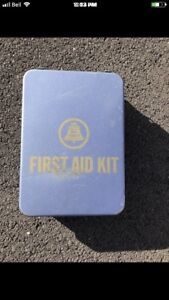 Bell Canada first aid kit