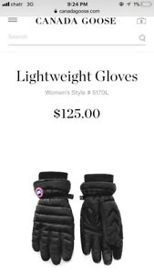 Brand new Canada goose gloves