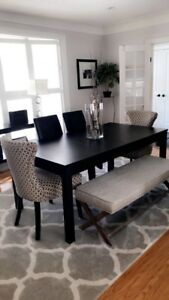 Dinning Room Table and Hutch