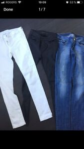 3 pairs of NEW pants