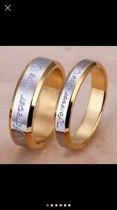 ENGRAVED******forever love*******RINGS/BANDS!!