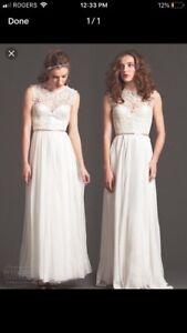 Sarah Seven Wedding Gown