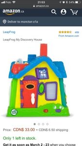Used LeapFrog My Discovery House