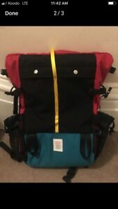 TOPO Roll Top Backback