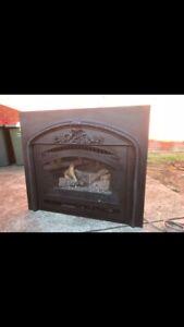 Lopi 564 Inbuilt Gas log fireplace fire heater