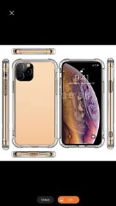 Iphone 11 pro anti-knock, shockproof , clear soft cases.