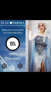 Elsa parties Princess parties frozen parties  Oakville / Halton Region Toronto (GTA) image 1