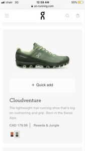 BRAND NEW ON CLOUD RUNNING SHOES