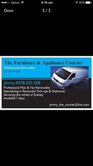 ★★THE FURNITURE & APPLIANCE COURIERS★★