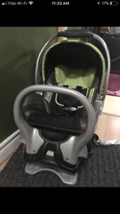 Baby Trend Velocity Car Seat, Base and Jogging Stroller.