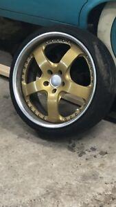 Rare 19inch  5x 112 concept Rims