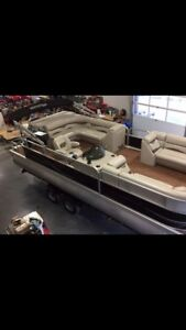 Montego Bay 22 ft Pontoon Boat For Sale with 115 HP E-Tech