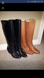 Leather boots size 5.5