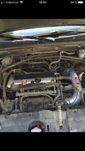 Honda crv2002 manuelle  pour piece vente rapide